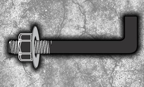 گشتاور مورد نیاز جهت اتصال انکر بولت